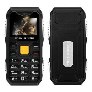 Image 2 - Melrose мини Военный карманный телефон, длинный режим ожидания, большой голосовой фонарик, FM, одна Sim, маленький размер, запасной мобильный телефон P105