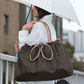 Creative Design Bags Protectors for rainy and snowy days Double Functions Light Weight folding waterproof Shopping Bags
