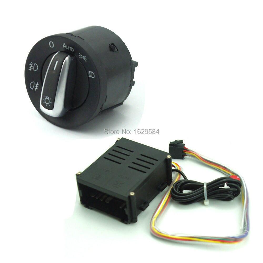 ФОТО New Auto Headlight Sensor & Auto Switch control Case For V W Golf Jetta Bora MK4 Passat B5 Polo 1998-2004