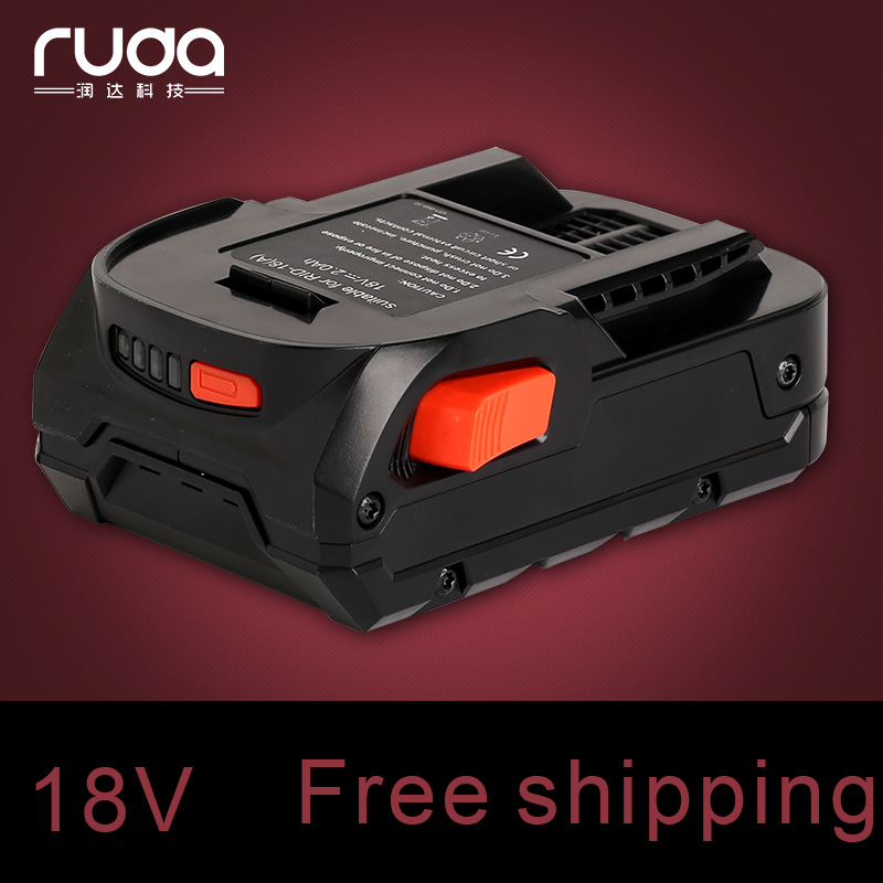 For RIDGID 18V 2000mAh power tool batteryR840084,AC840084,130383025,130383001