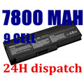7800MAH 9CELLS NEW laptop battery for DELL for Inspiron 1420 PP26L,Vostro 1400 FT080 FT092 FT095 KX117 MN151 MN154 NB331