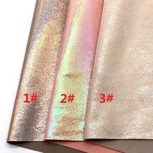 1 stks A4 MAAT 21X29 cm Alisa Glitter Cuero Sintetico Iriserende Leer  Regenboog Stof Leer voor 911e661f2b42