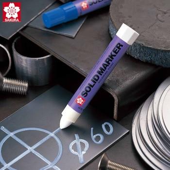 사쿠라 영구 마커 솔리드 페인트 펜 cd 스틸 고무 marcador caneta 자동차 페인트 화이트 마커 고온 쓰기