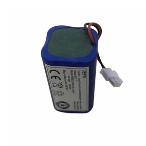 Image 4 - 14.8V 2800mAh robot Vacuum Cleaner Battery Pack replacement for chuwi ilife v7 V7S Pro Robotic Sweeper 1PCS