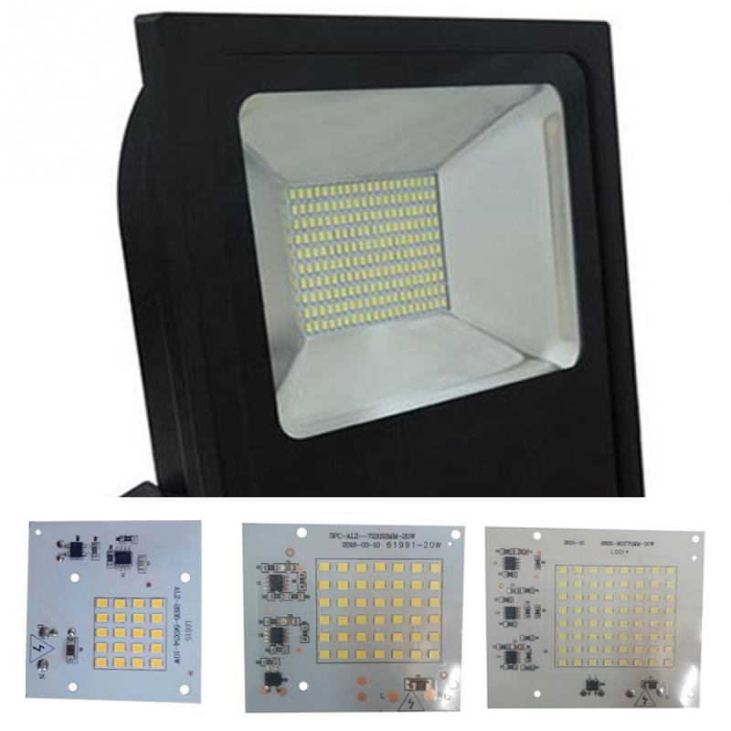 Light Source Board LED Panel Lights Smart IC SMD LED Chips Lamp For Outdoor Flood Light Cold White/Warm White Led Lights#1001