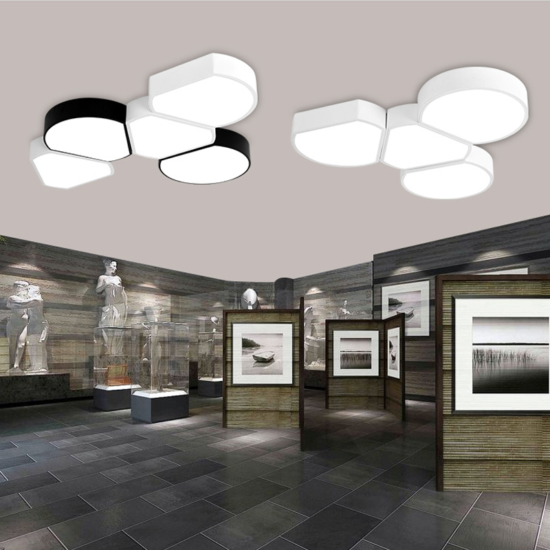 Modern minimalist office led ceiling lights creative combination lamp personality bedroom study room restaurant ceiling lamp i love living room ceiling lamps iron modern minimalist led bedroom study restaurant kitchen balcony lamp