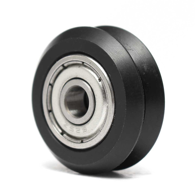 10pcs V wheel kit Pulley with ball Bearings Passive Round wheel Idler Pulley Gear perlin wheel 3D Printer Accessories