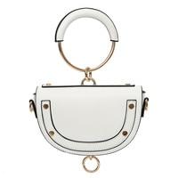 2017 Women PU Leather Handbags Shoulder Bag Designer Handbags High Quality Women Bag Saddle Ladies Hand
