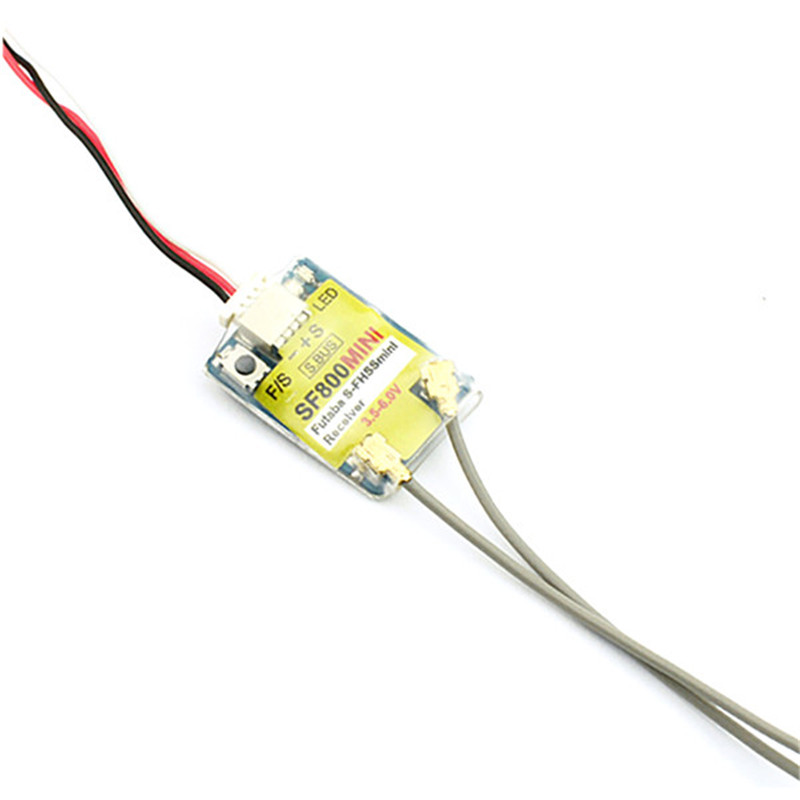 SF800MINI S. BUS/CPPM Ausgang Kompatiblen Receiver für FUTABA S-FHSS T4YF T6J T6K T10J T14SG T18MZ RC Modelle brille Quadcopter