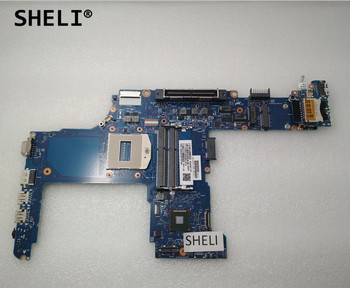 SHELI For HP 650 G1 640 G1 Motherboard PGA947 DDR3 6050A2566302-MB-A04 744007-001