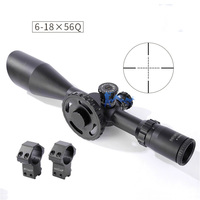 SHOOTER New Tactical Military ST 6 18x56 Rifle Scope For CS Game Hunting Shooting CL1 0355