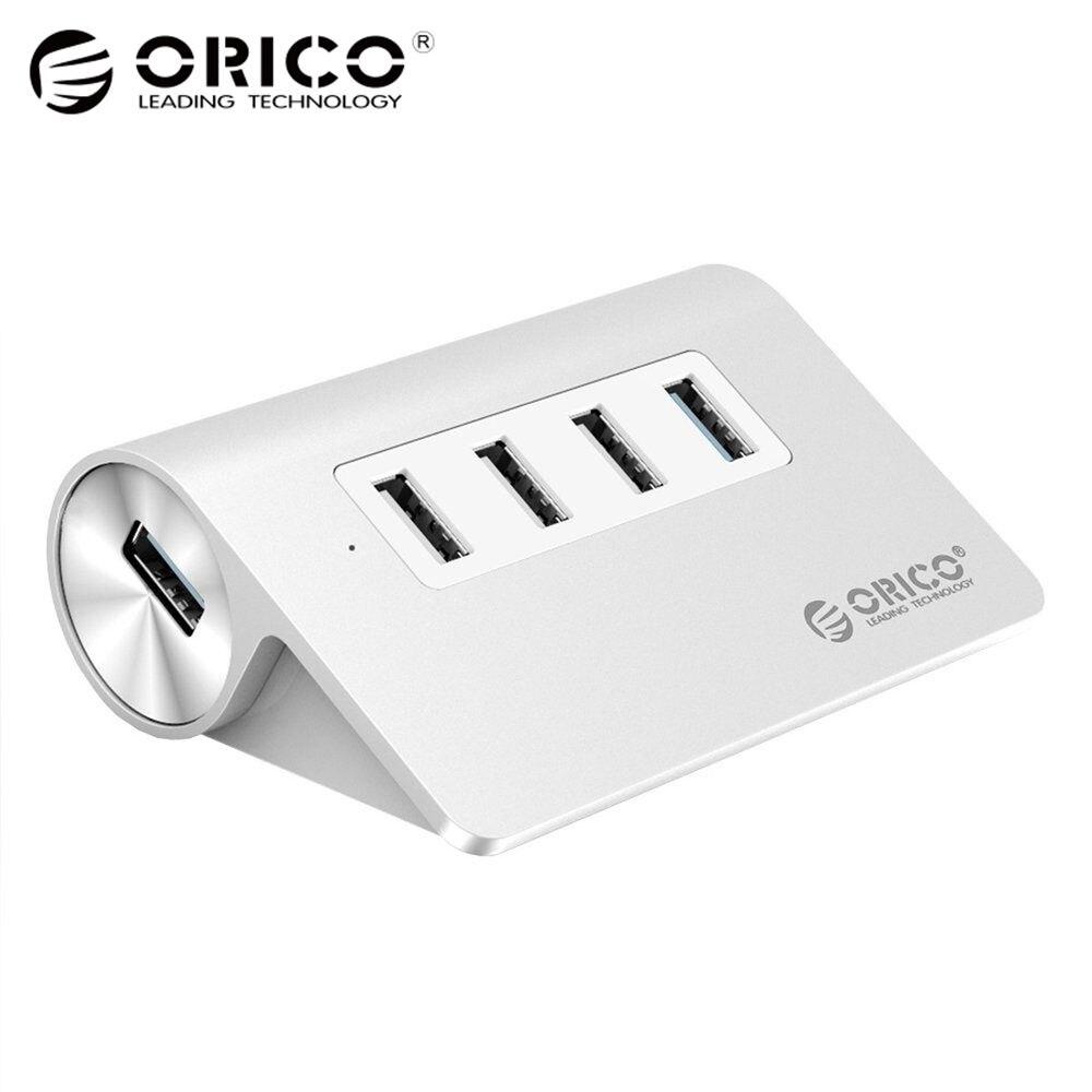 ORICO USB HUB 1 Ports USB3.0 5 Gpbs 3 Ports USB2.0 480 Mbps vitesse En Alliage D'aluminium Conçu pour iMac Ordinateur Portable De Bureau avec 100 cm Câble