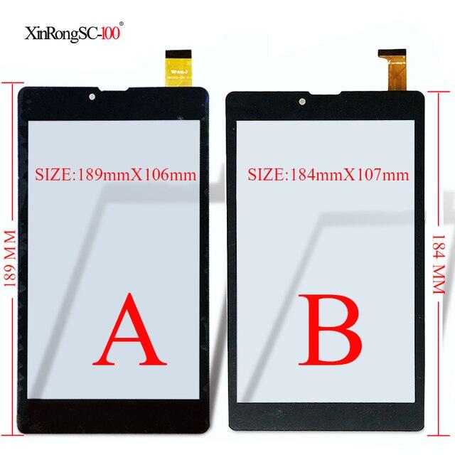 """Новый для 7 """"Digma Optima Prime 2 3g TS7067PG Tablet Емкостный сенсорный экран панели планшета Стекло Сенсор тачпад Бесплатная доставка"""