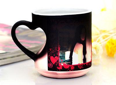 custom logo personalized photo printing creative magic mugs picture