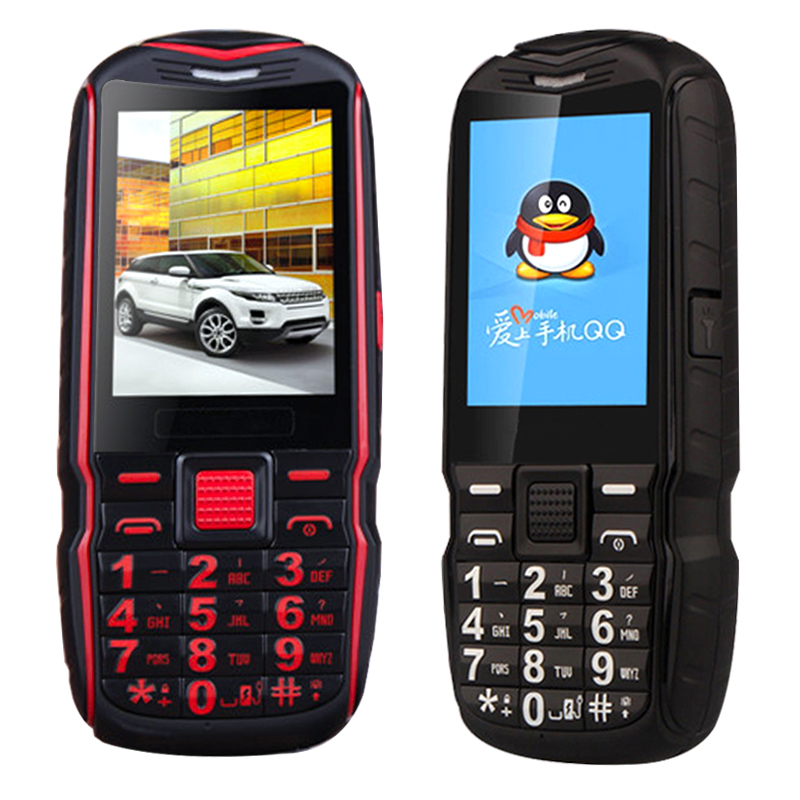 KUH T39 5800mAh Turkish Arabic Russian Rugged Phone Vibration Flashlight Shockproof Dual SIM Big voice FM