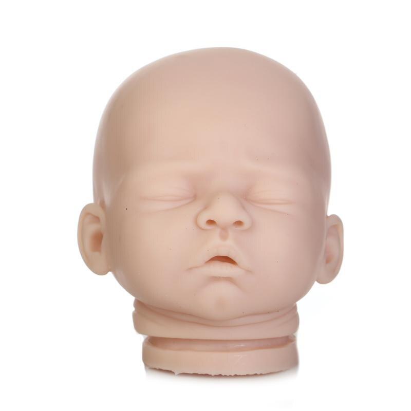 DIY Blank Kit Soft Vinyl Reborn Doll Kit Reborn Doll Kit Prototype Unisex Doll Accessories with 3/4 LimbsDIY Blank Kit Soft Vinyl Reborn Doll Kit Reborn Doll Kit Prototype Unisex Doll Accessories with 3/4 Limbs