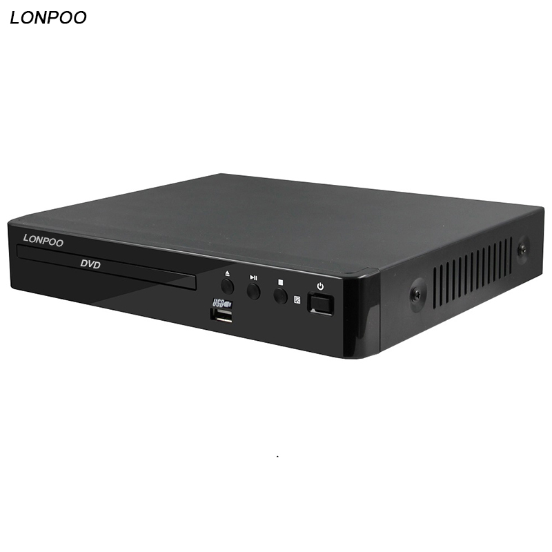 LONPOO 2018 Newest DVD Player support HDMI Multiple Languages USB Reaser US & EU standard dvd player DVD MP3