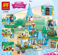 Reedcall Friends Building Block Princess Anna Elsa Castle 37008 Figure Bricks Toys Compatible Legoeds Lepin Gift
