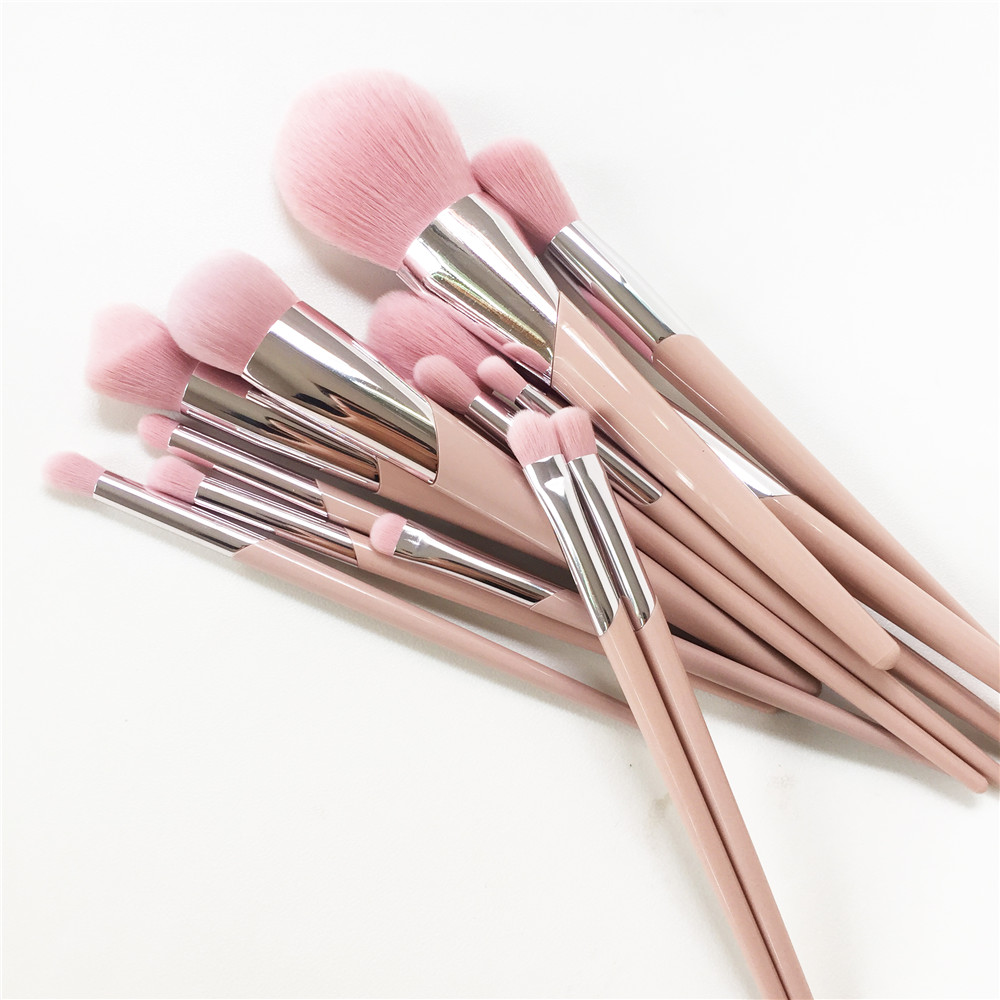 Image 3 - Набор из 15 кистей для макияжа, набор 110 кистей для нанесения  основы, 120 кистей, для растушевки теней, 210 для растушевки розовых  волосАппликатор теней для век