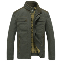 Jacket Men Military Denim Jackets Mens Spring Autumn Coat Jaqueta Masculino Mens Army Jeans Bomber Jacket