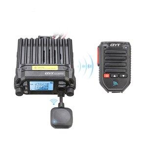 Image 2 - Baofeng BT 89 Handheld Wireless Bluetooth Microphone Speaker for QYT KT series Mobile Radio 10 Meters Receive Range Microphone
