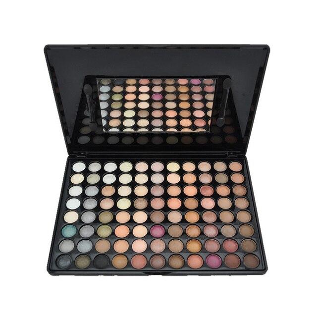1 Unids 88 Nuevos A Todo Color Paleta de Sombra de ojos Natural Mate Caliente Color de Sombra de Ojos Paleta de Polvo Cosmético Del Maquillaje de Sombra de Ojos Para mujeres