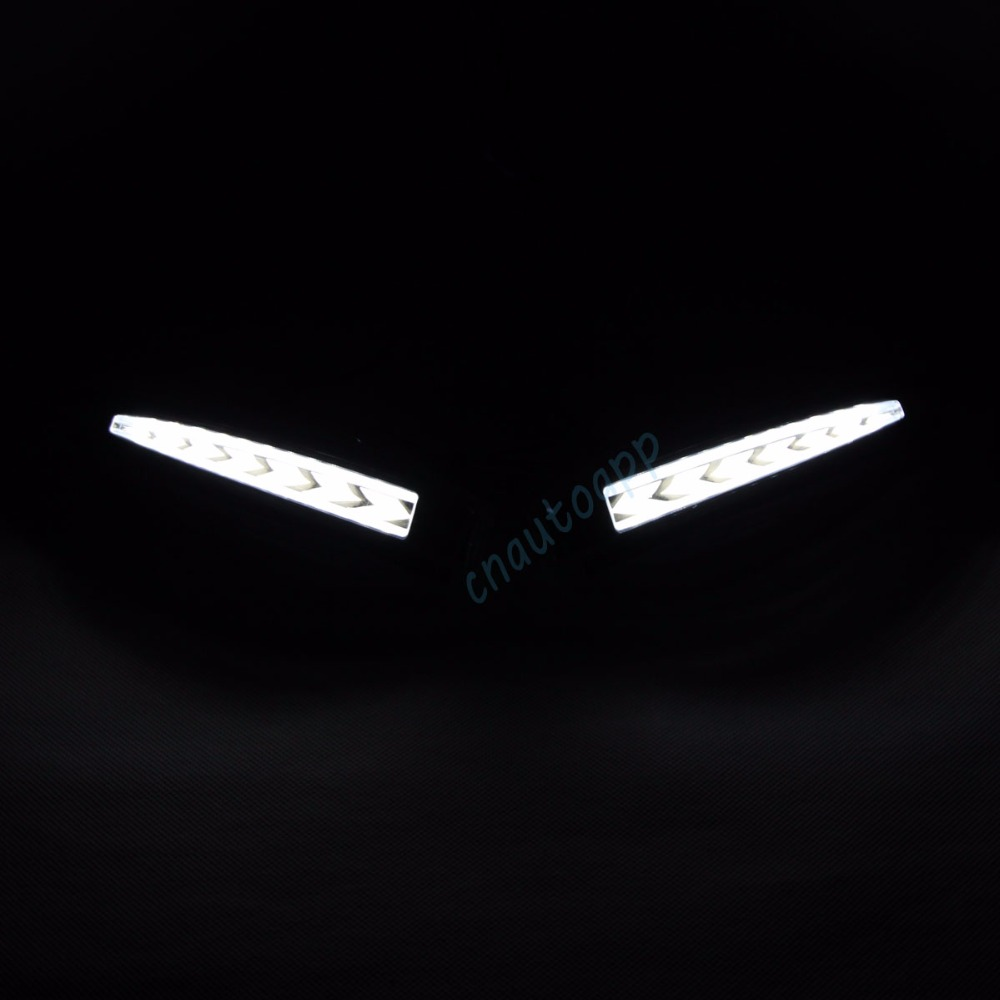 Toyota Alphard Mirror LED light 9