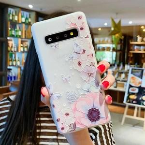 Image 5 - Case For Samsung Galaxy S10 Plus A30 A50 M10 M20 A7 A8 A6 J4 J6 EU Edition 2018 S8 S9 S10 J3 J5 J7 A3 A5 A7 2017 Flower Cases