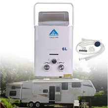 Hot-Water Propane Camping Tankless 6L LPG CE Rv-12-Volt Ce-Approved Portable