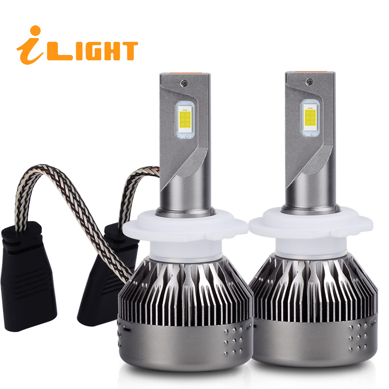 iLight H4 Led Bulb H7 LED Bulb Car Fog Lights H4 Lamp HB3 9005 HB4 9006 H11 H9 H8 H1 12V 72W 7600LM Automobiles 6500K 530E free shipping cheapest dland c6 auto led bulb lamp kit lights 72w 7600lm ip68 h1 h3 h4 h7 9006 9005 h8 h10 h11 h13