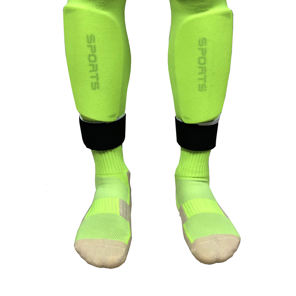 1 Pair Hot Sale Fixed Leg Sports Protective Gear Football Soccer Socks Leggings Guards Guardian Calf Fixing Belt Free Shipping