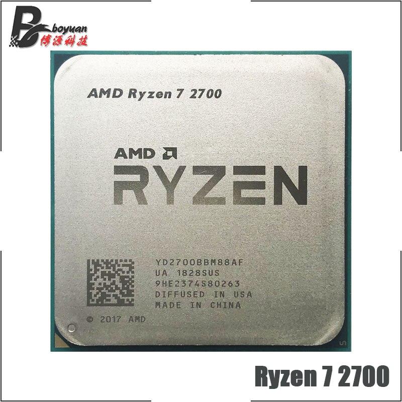 AMD Ryzen 7 2700 R7 2700 3.2 GHz Acht Core Sinteen Draad 16M 65W CPU Processor YD2700BBM88AF Socket AM4-in CPU's van Computer & Kantoor op AliExpress - 11.11_Dubbel 11Vrijgezellendag 1