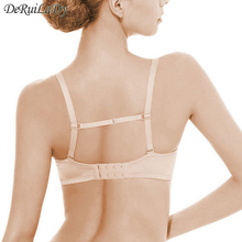DeRuiLaDy Manufacturers Wholesale Hot Sale Underwear Non-slip Buckle Strap High Elastic Bra Strap With non-slip Multicolor cheap WOMEN Intimates Accessories NYLON JD10 Straps Natural Color