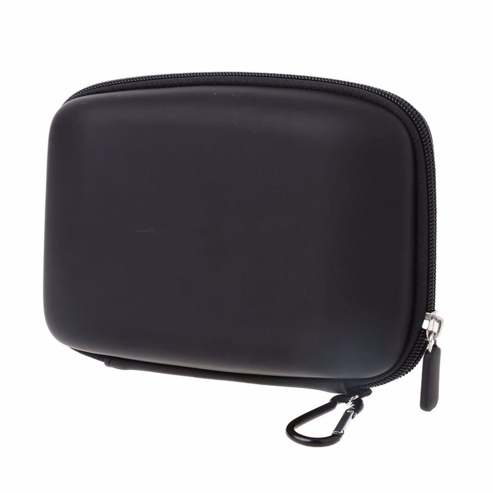 6 Inch PU Hard Shell Carry Bag <font><b>Case</b></font> Cover In Car <font><b>Sat</b></font> <font><b>Nav</b></font> Holder For GPS TomTom Start 60 Garmin Protection Cover Pouch image