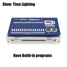 professional DMX 512 controller 256A dmx master console with flycase have built-in program easy use for stage lighting