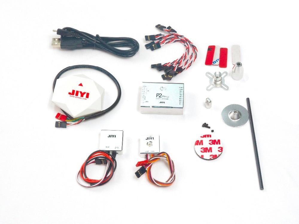 цена на Newest JIYI P2 Pro RC Flight Controller Multirotor Autopilot Flight Control System for RC Drone Quadcopter Better Than naza v2