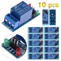 10Pcs 24V 1-Channel Relay Module Optocouple Board Shield for PIC AVR DSP AR