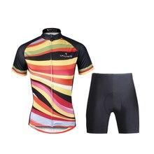 ILPALADINO трикотаж комплект для женщин короткий рукав велосипед одежда дышащий Велосипедный спорт костюмы Ropa Ciclismo лето