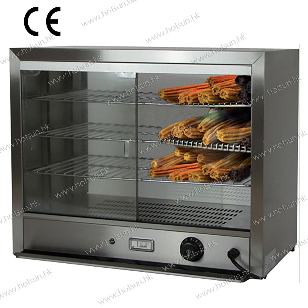 Commercial Use 110v 220v Electric Waffle Churros Warmer Displayer Showcase 1 2m food warmer displayer cheaper warming showcase for sale