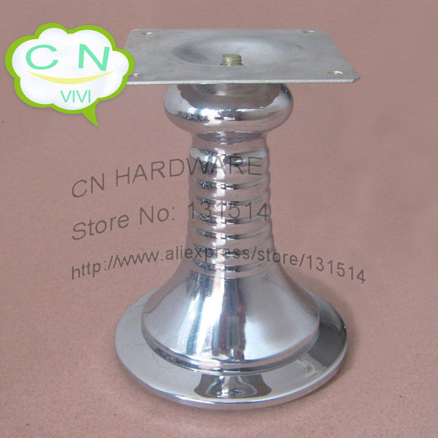 H14cm metal sofa legs, furniture parts leg cabinet feet table foot metal chrome furniture hardware