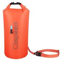 Clispeed 1 шт. буй для плавания Сверхлегкий безопасный Водонепроницаемый плавающий сухой мешок для серферов
