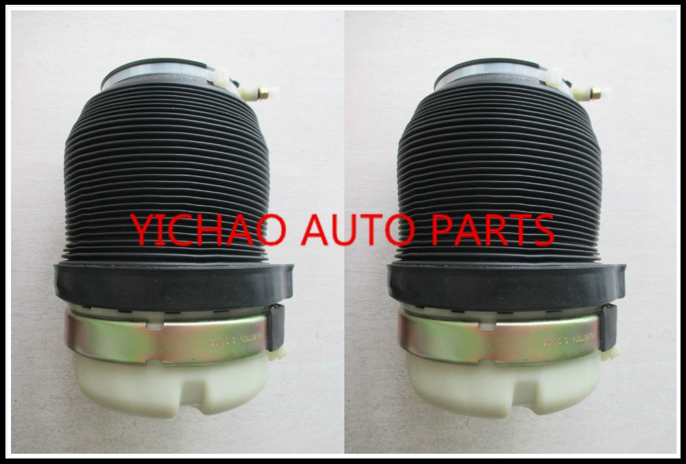 pair AIR SPRING/ AIRSUSPENSION for AUDI car A6 C6 4F Luftfederung Luftfeder Hinten Sospensione Molla Pneumatica Ad Aria Indietro