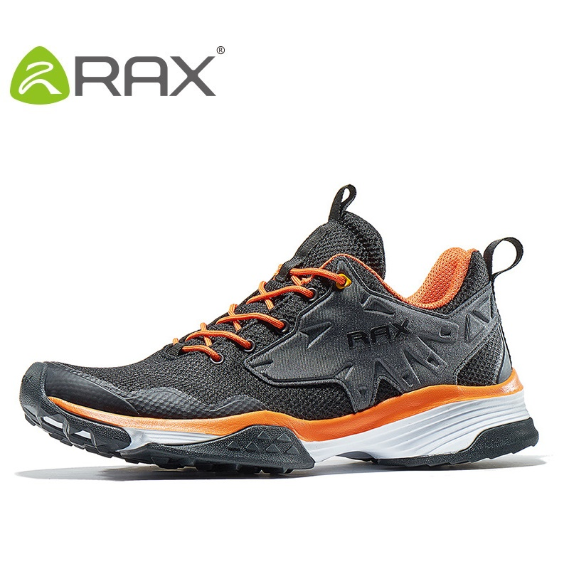 Rax Men Mountain Climbing Shoes Women Outdoor Shoes Female Damping Anti-Skid Wear Cross Country Walking Shoes B2754