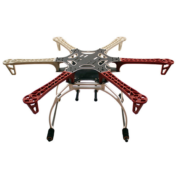 FPV F550 Hexa Frame Arm HexaCopter PCB with Landing Gear Gimbal Protector Battery Plate for Flamewheel F550 HJ550 Quadcopter 500mm pcb board with landing gear for fpv quad s500 pcb quadcopter multicopter frame kit gopro gimbal f450 rc spare parts