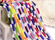 Newest 10Pcs 1.4M Solid Colorful TPU Spiral USB Charger Cable Cord Protector Wrap Winder For iphone Samsung  Data