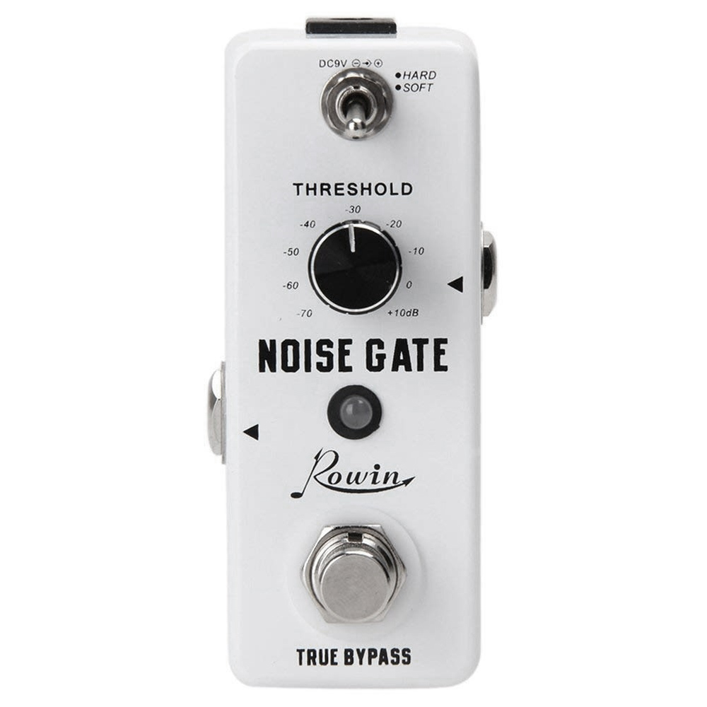 Rowin Guitar Noise Killer Noise Gate Suppressor Effect Pedal-in Guitar Parts & Accessories from Sports & Entertainment