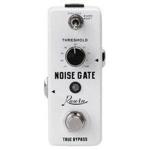 Rowin guitarra anulador de ruido puerta supresor del Pedal del efecto