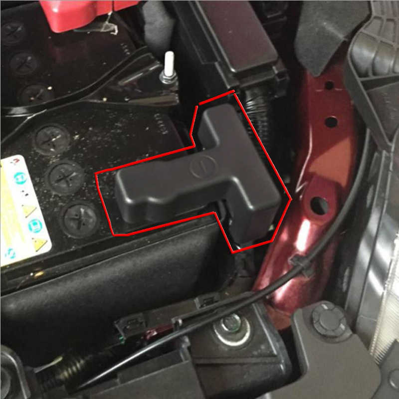 For Nissan Altima Teana Maxima Murano 2017 2018 Car Battery Electrode Negative Protection Clip Case