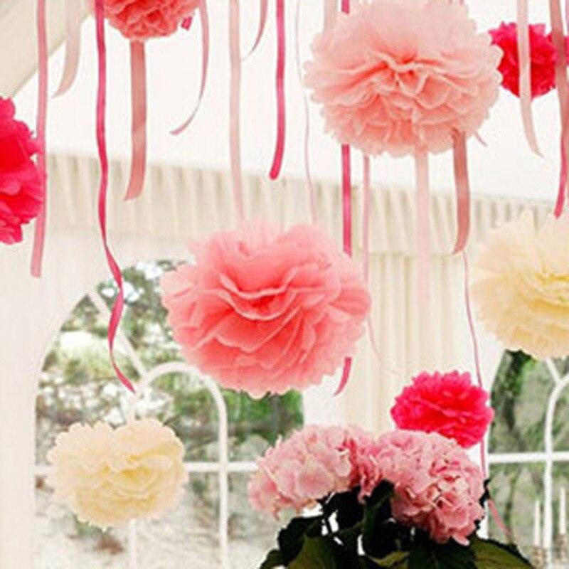 13 Colors Creative Korean Large Paper Flowers Ball Trumpet Wedding