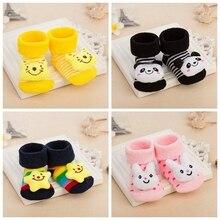 10 Colors Newborn Baby Socks Cute Toy design Children's Socks Baby Boy Girls Anti Slip Socks For Kids